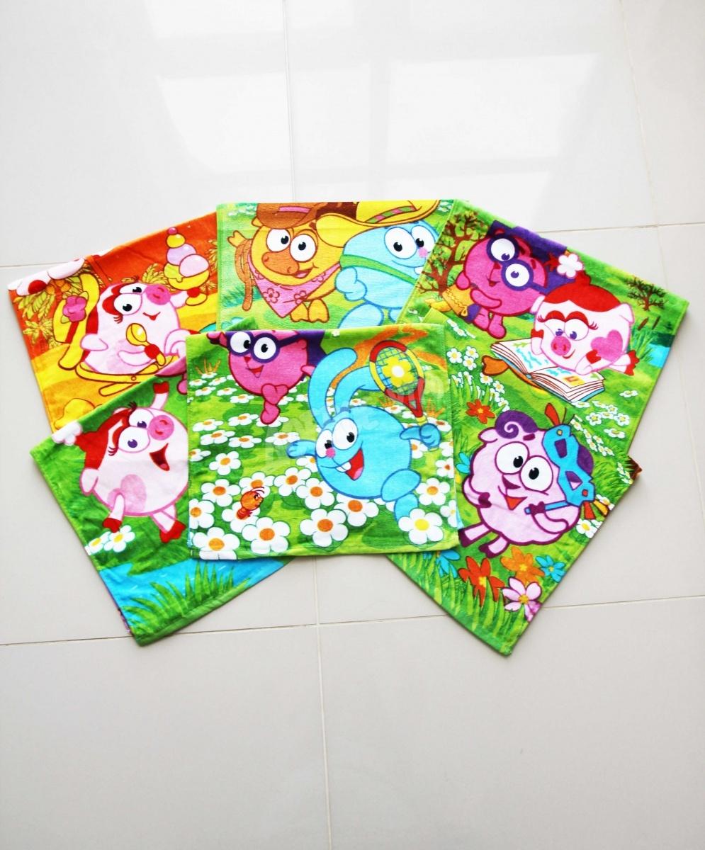 Полотенце Мультяшки маленькиеДетские полотенца<br><br><br>Размер: 40х70