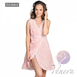 Сорочка ночная Лейла (Персиковый)Сорочки<br><br><br>Размер: 46
