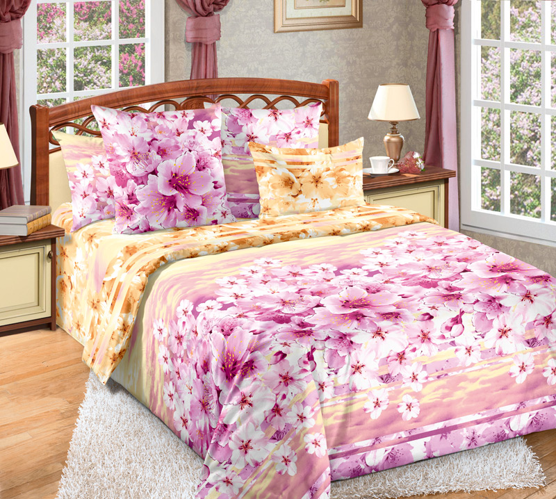 Комплект постельного белья ДианаБязь<br><br><br>Размер: 2сп (2 нав.70х70)