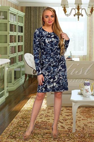 Платье женское АльбинаПлатья<br><br><br>Размер: Синий