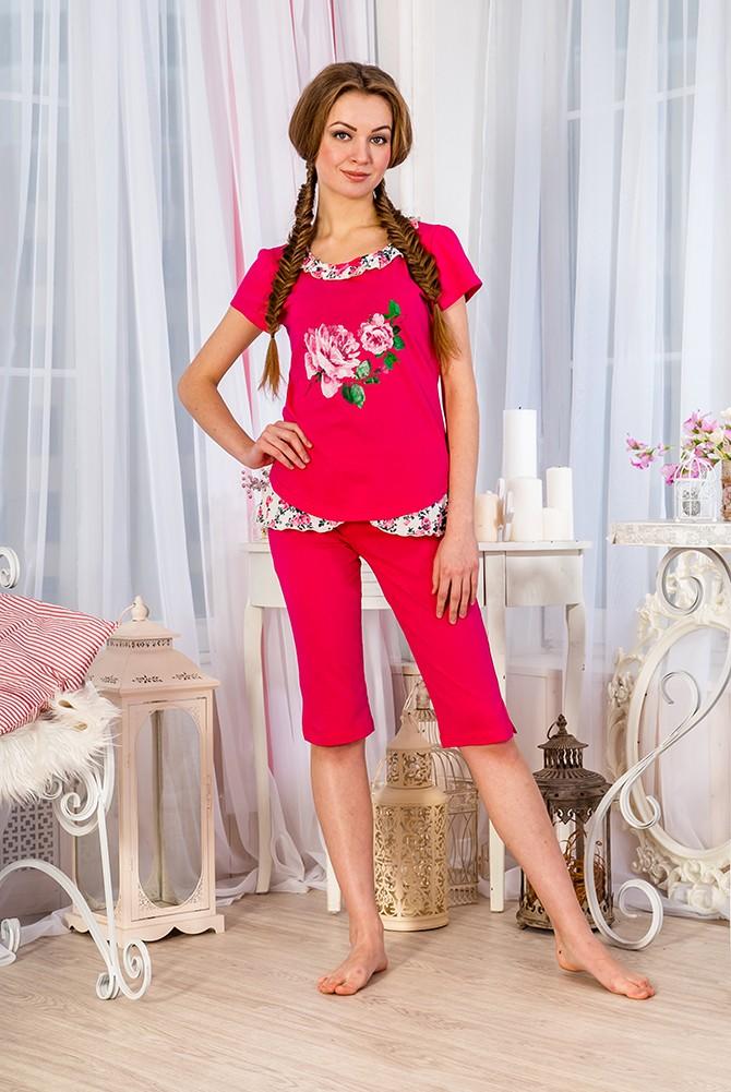 Костюм женский ФлоренцияДомашние комплекты, костюмы<br><br><br>Размер: 48