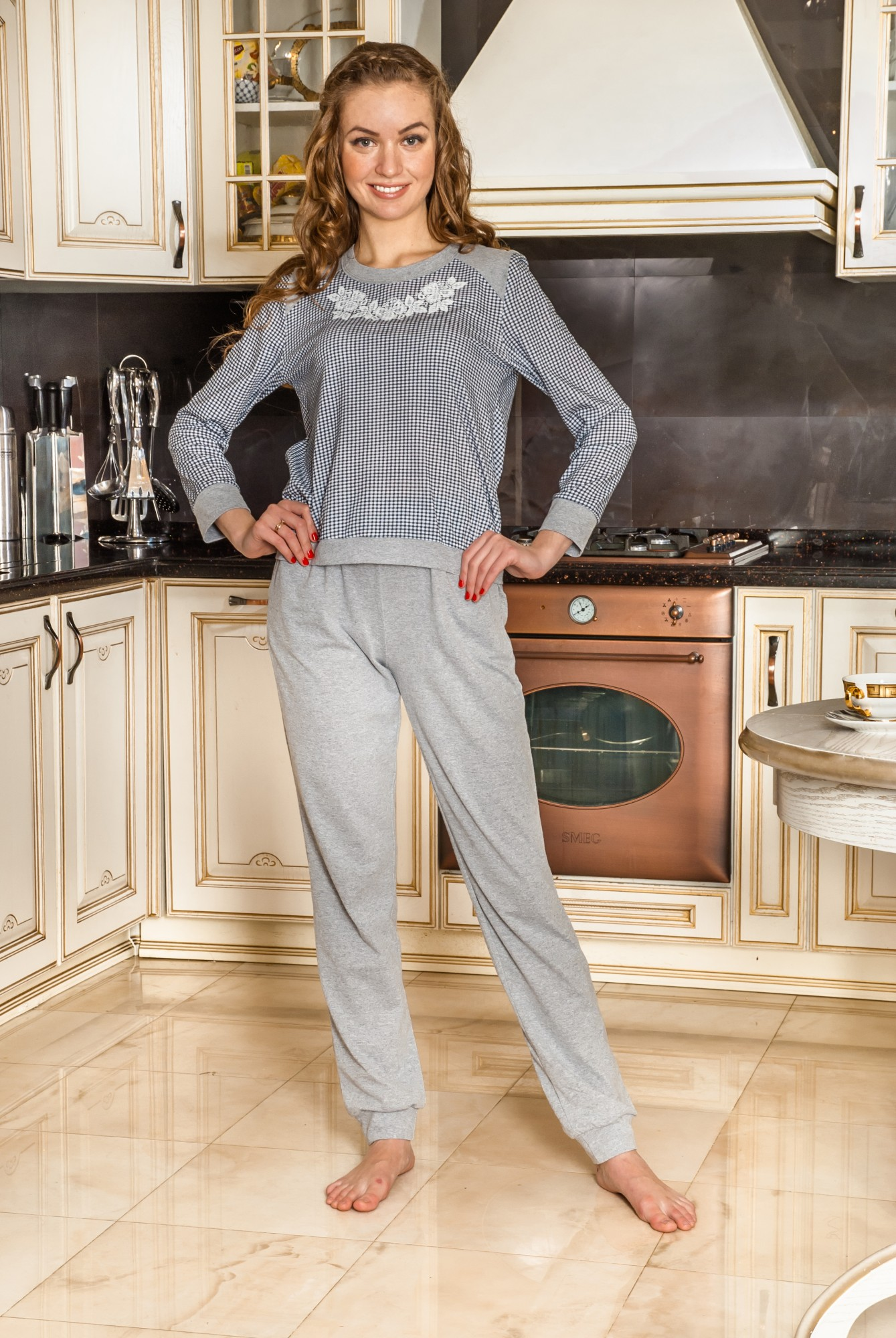 Костюм женский ЛайтДомашние комплекты, костюмы<br><br><br>Размер: 52