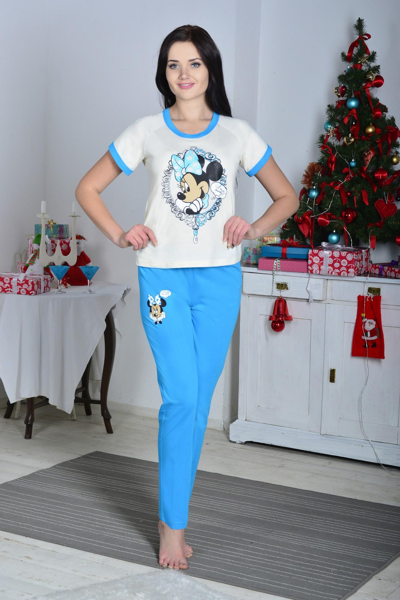 Костюм женский ПоллиДомашние комплекты, костюмы<br><br><br>Размер: 46