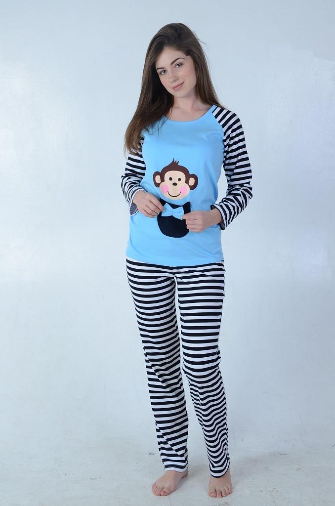 Пижама женская БомбиноПижамы<br><br><br>Размер: 46