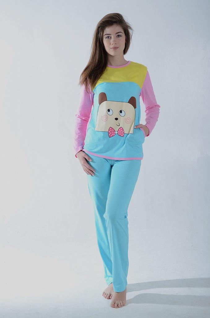 Пижама женская УмкаДомашняя одежда<br><br><br>Размер: 48