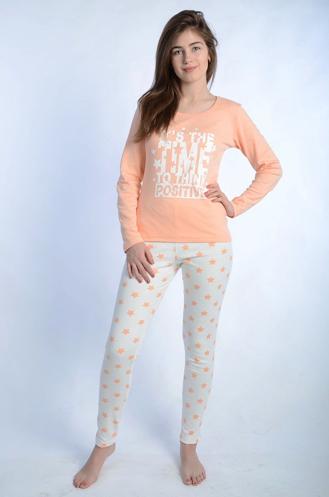 Пижама женская ЗвёздочкаПижамы<br><br><br>Размер: 42