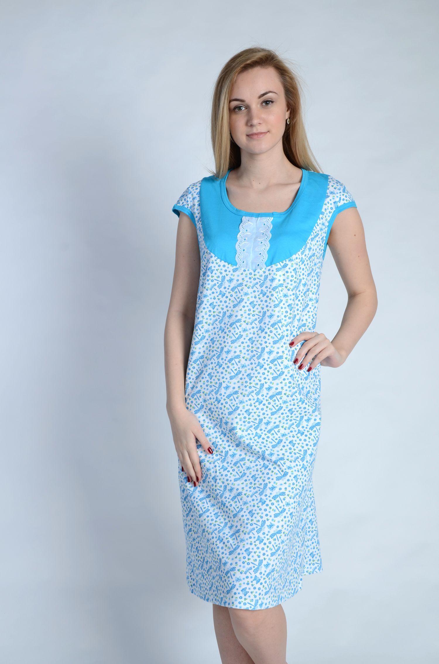 Сорочка женская АврораСорочки<br><br><br>Размер: 54