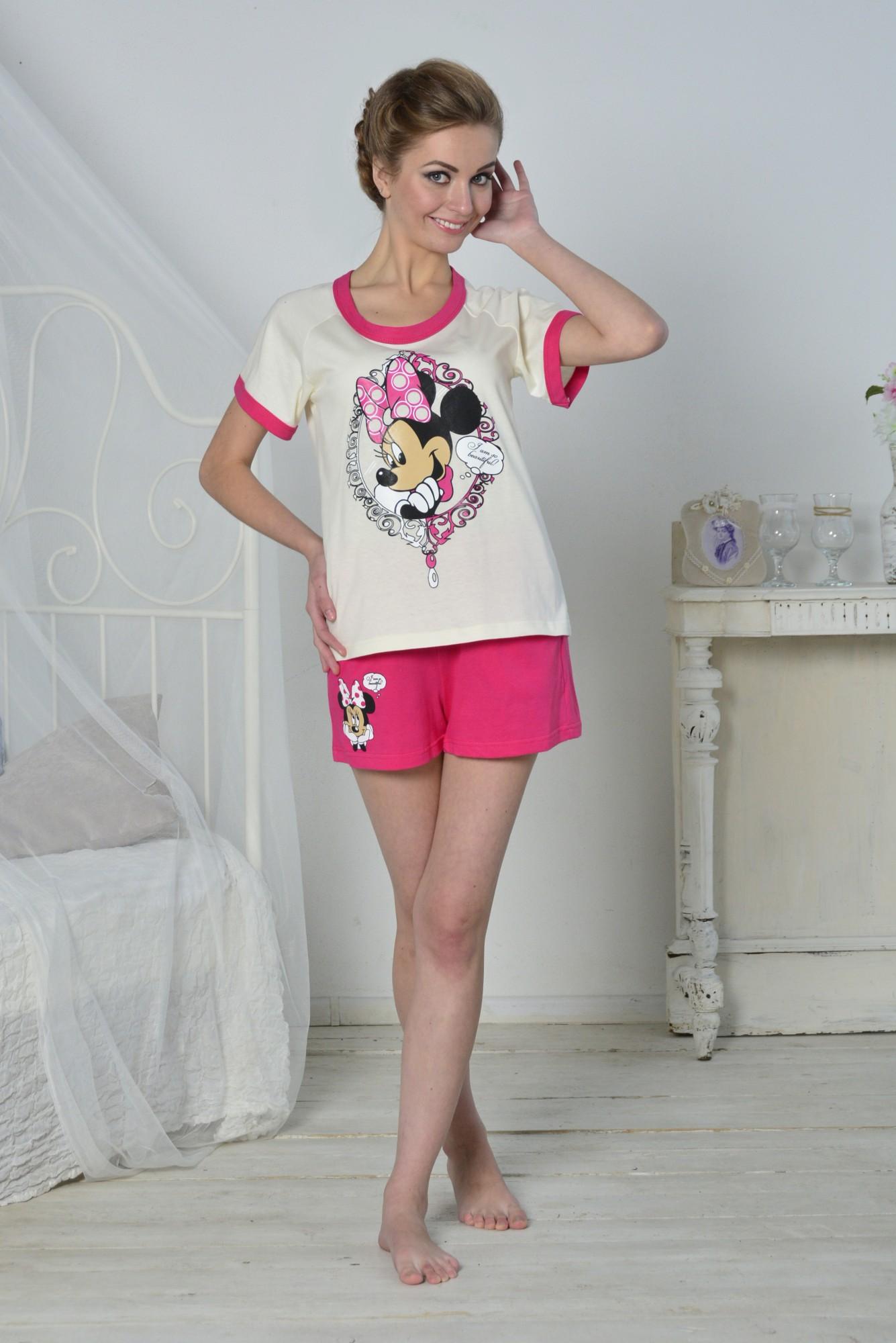Пижама женская ПоллиПижамы<br><br><br>Размер: Розовый