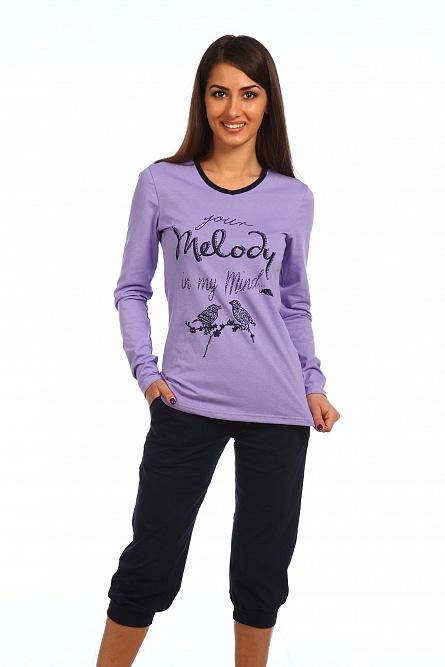 Комплект Мелодия блуза и бриджиДомашние комплекты, костюмы<br><br><br>Размер: 50