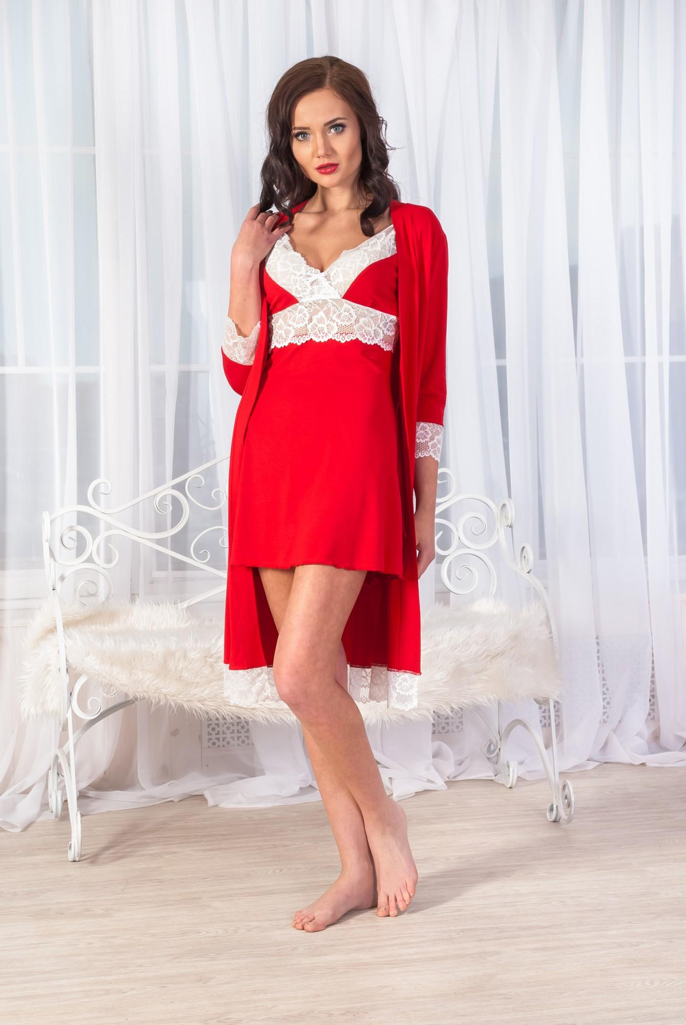 Сорочка ночная женская ИзольдаСорочки<br><br><br>Размер: 40