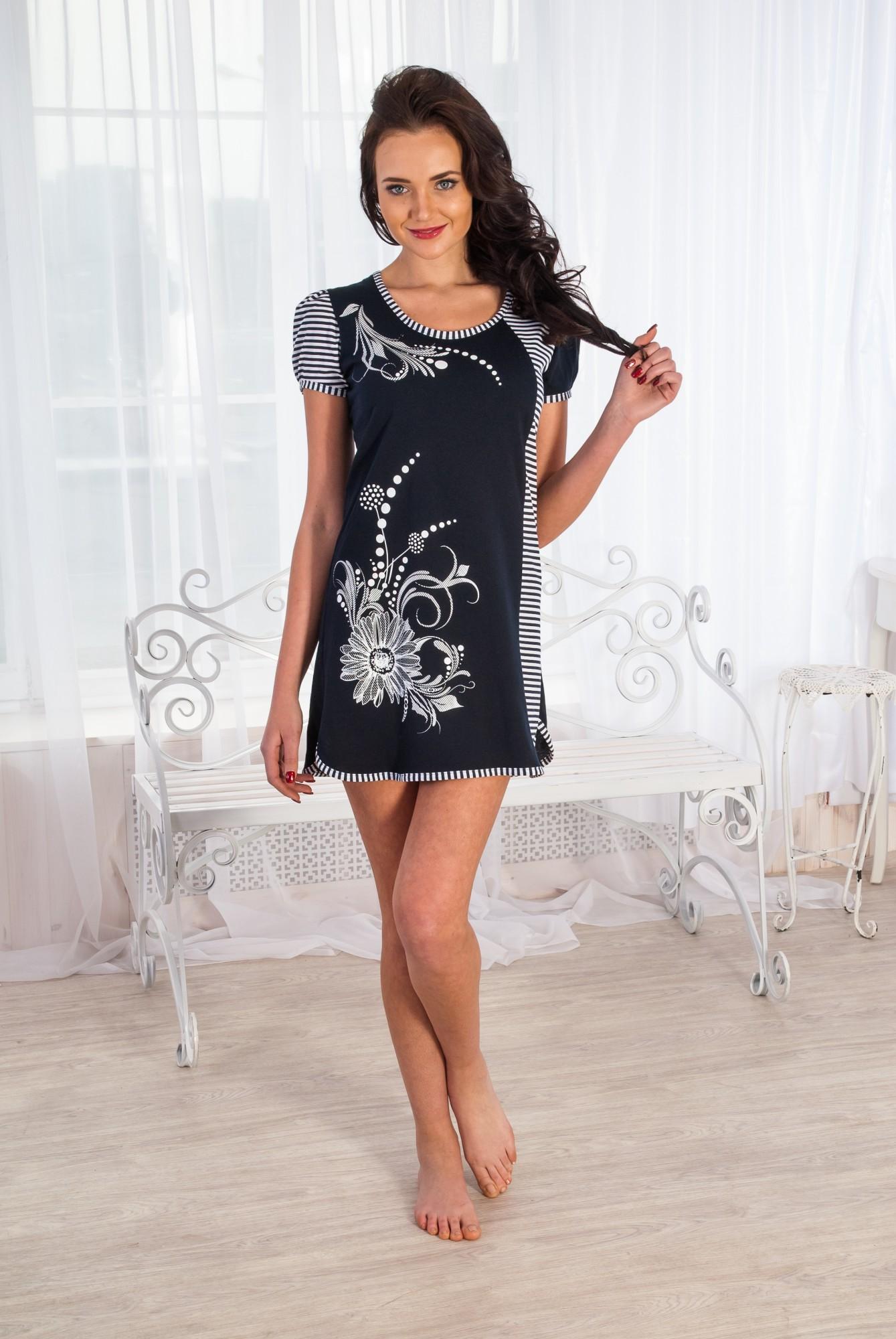 Туника женская ЛетоТуники, рубашки и блузы<br><br><br>Размер: 50