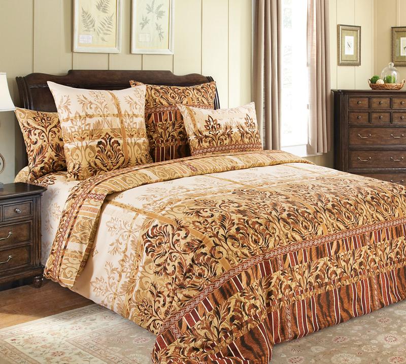 Комплект постельного белья Бакарди 1 из бязиБязь<br><br><br>Размер: Семейный (2 нав.70х70)