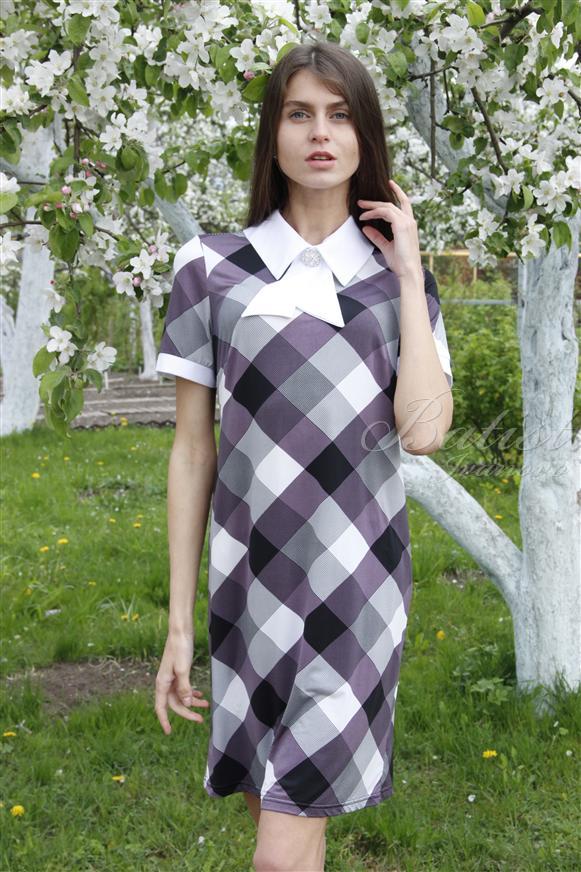 Платье женское ЖаклинПлатья и сарафаны<br><br><br>Размер: 56