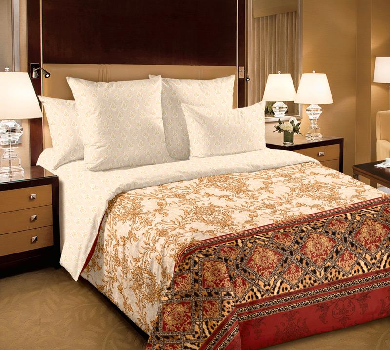 Комплект постельного белья Императрица 1Перкаль<br><br><br>Размер: Евромакси (2 нав.70х70)