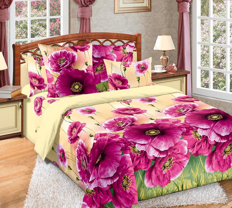 Комплект постельного белья Кармен 2Перкаль<br><br><br>Размер: Евромакси (2 нав.70х70)