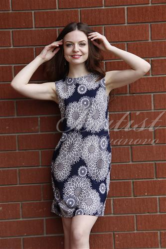 Платье женское МайяПлатья и сарафаны<br><br><br>Размер: Голубой