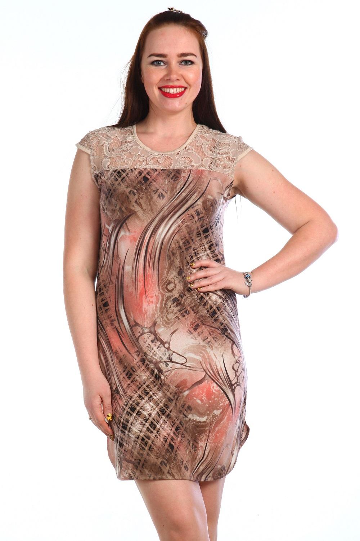 Платье женское МахаонПлатья<br><br><br>Размер: Бежевый