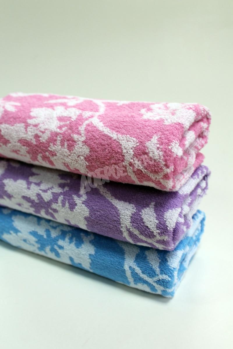 Полотенце Полевые цветыДля всей семьи<br><br><br>Размер: Розовый