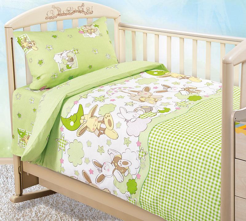 Комплект постельного белья Соня 2 детский из бязиДетское постельное белье<br><br><br>Размер: 1.5сп (2 нав.70х70)