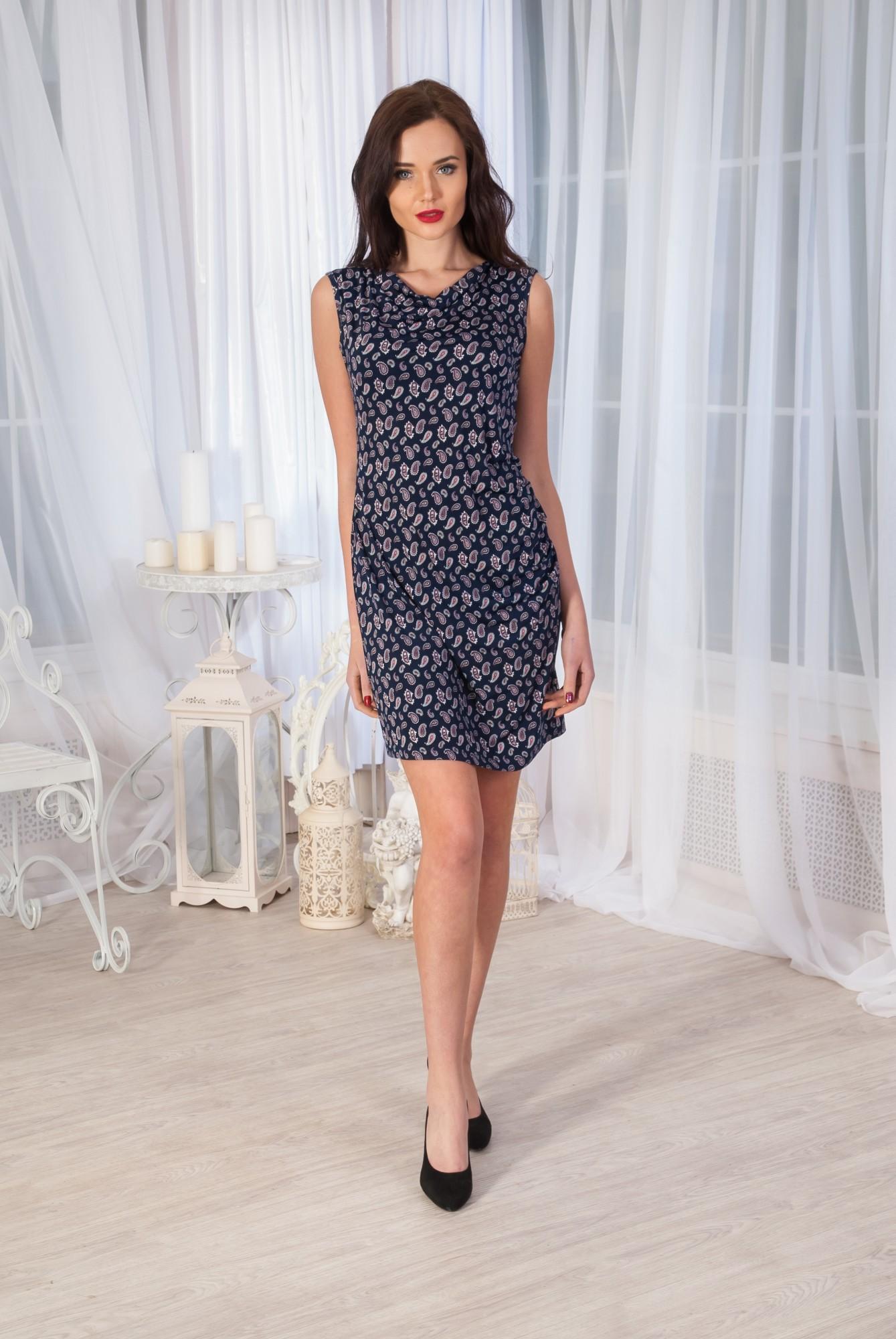 Платье женское СофияПлатья<br><br><br>Размер: Темно-синий