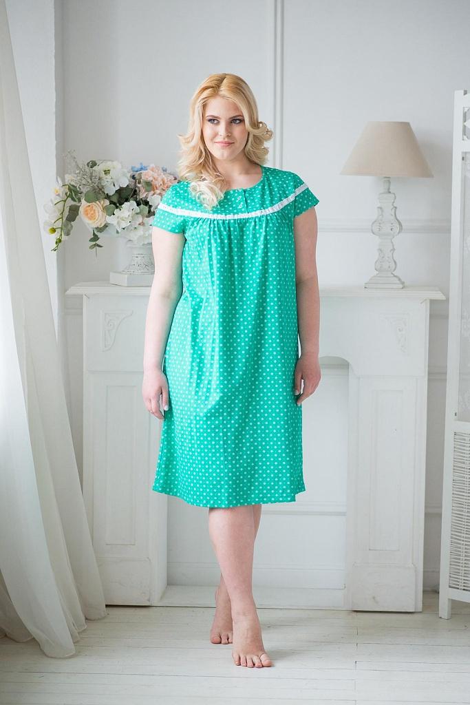 Сорочка женская КалинаДомашняя одежда<br><br><br>Размер: 52