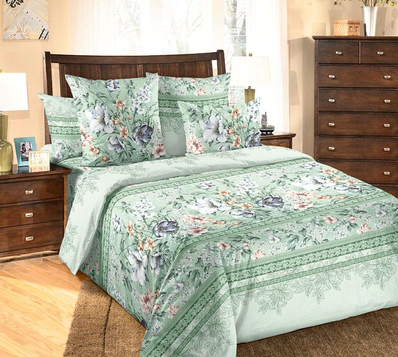 Комплект постельного белья ЕленаБязь<br><br><br>Размер: 2сп (2 нав.70х70)