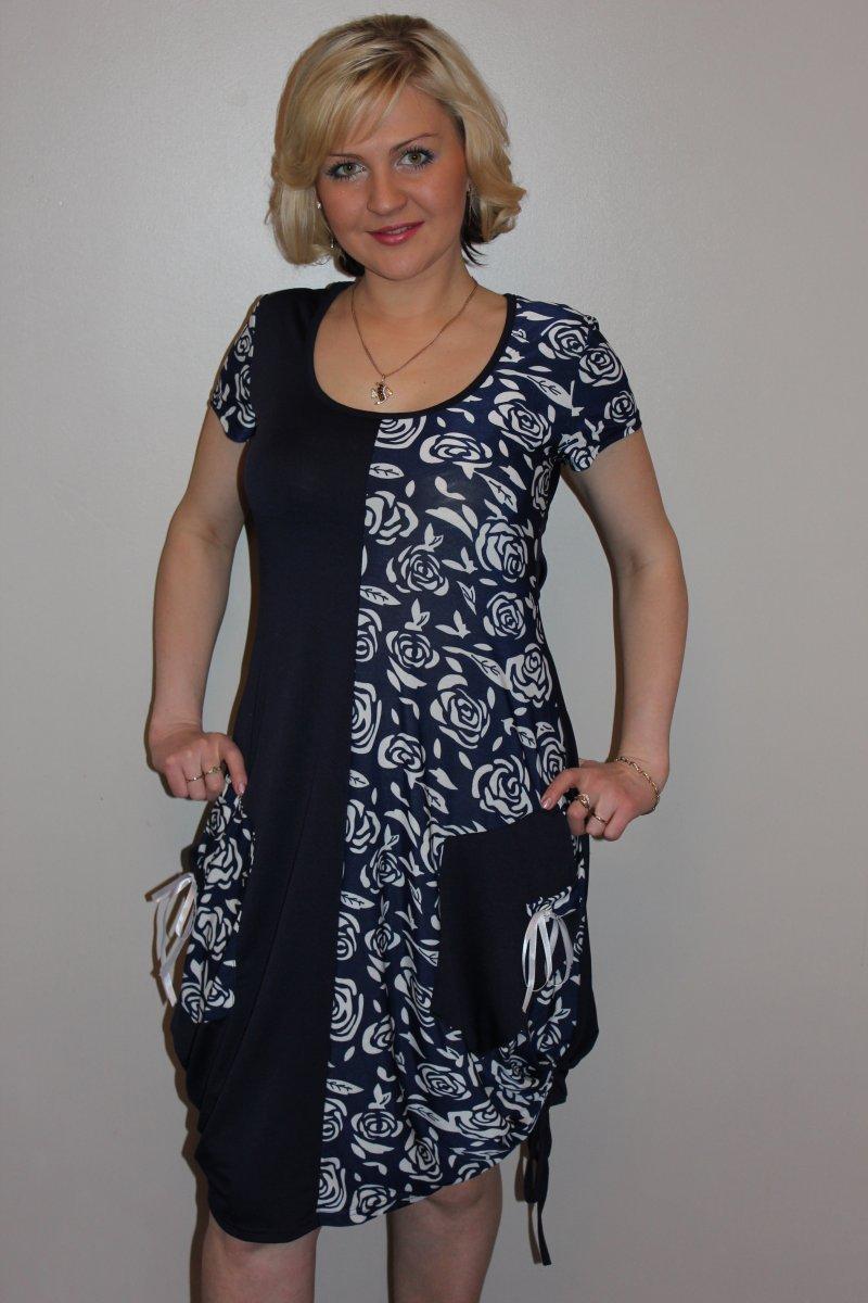 Туника женская РозаТуники, рубашки и блузы<br><br><br>Размер: 56