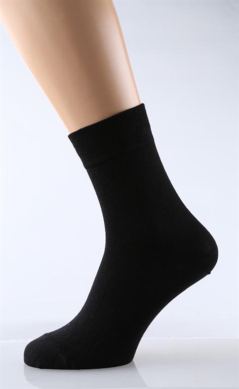 Носки мужские Черная ОднотонкаНоски<br><br><br>Размер: 25
