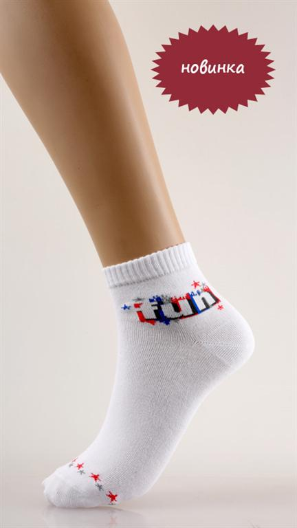 Носки подростковые FunНоски<br><br><br>Размер: 20