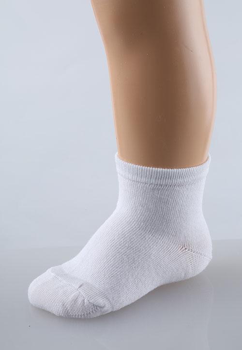 Носки детские Однотонные белыеНоски, гольфы<br><br><br>Размер: 16