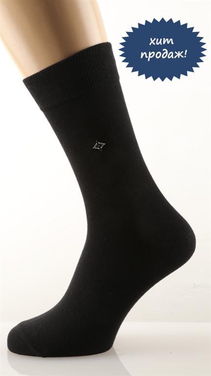Носки мужские РомбНоски<br><br><br>Размер: Чёрный