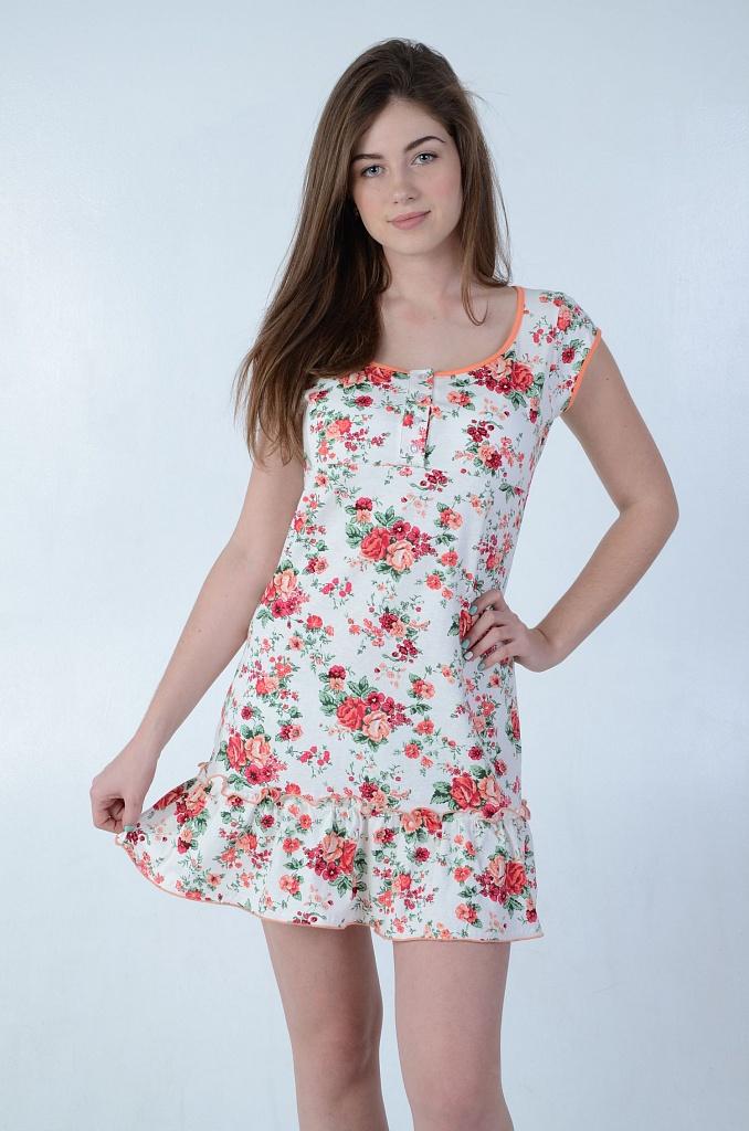 Платье женское ОборкаПлатья и сарафаны<br><br><br>Размер: 54
