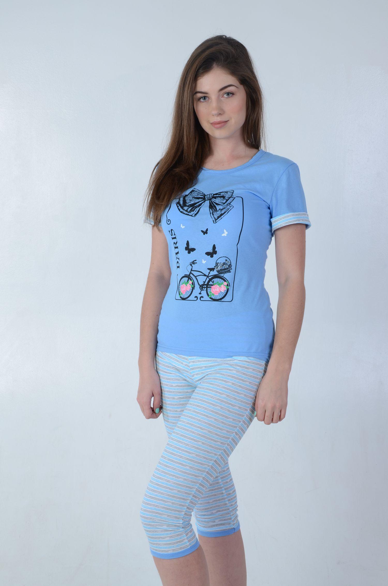 Пижама женская БантикПижамы<br><br><br>Размер: 50