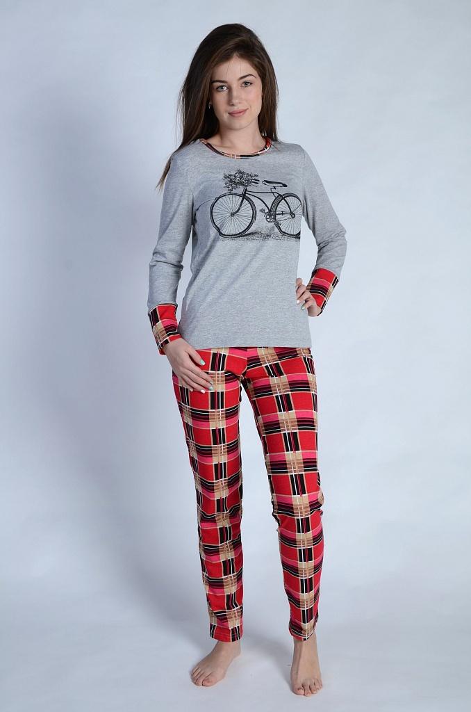 Пижама женская ВелосипедПижамы<br><br><br>Размер: Красный