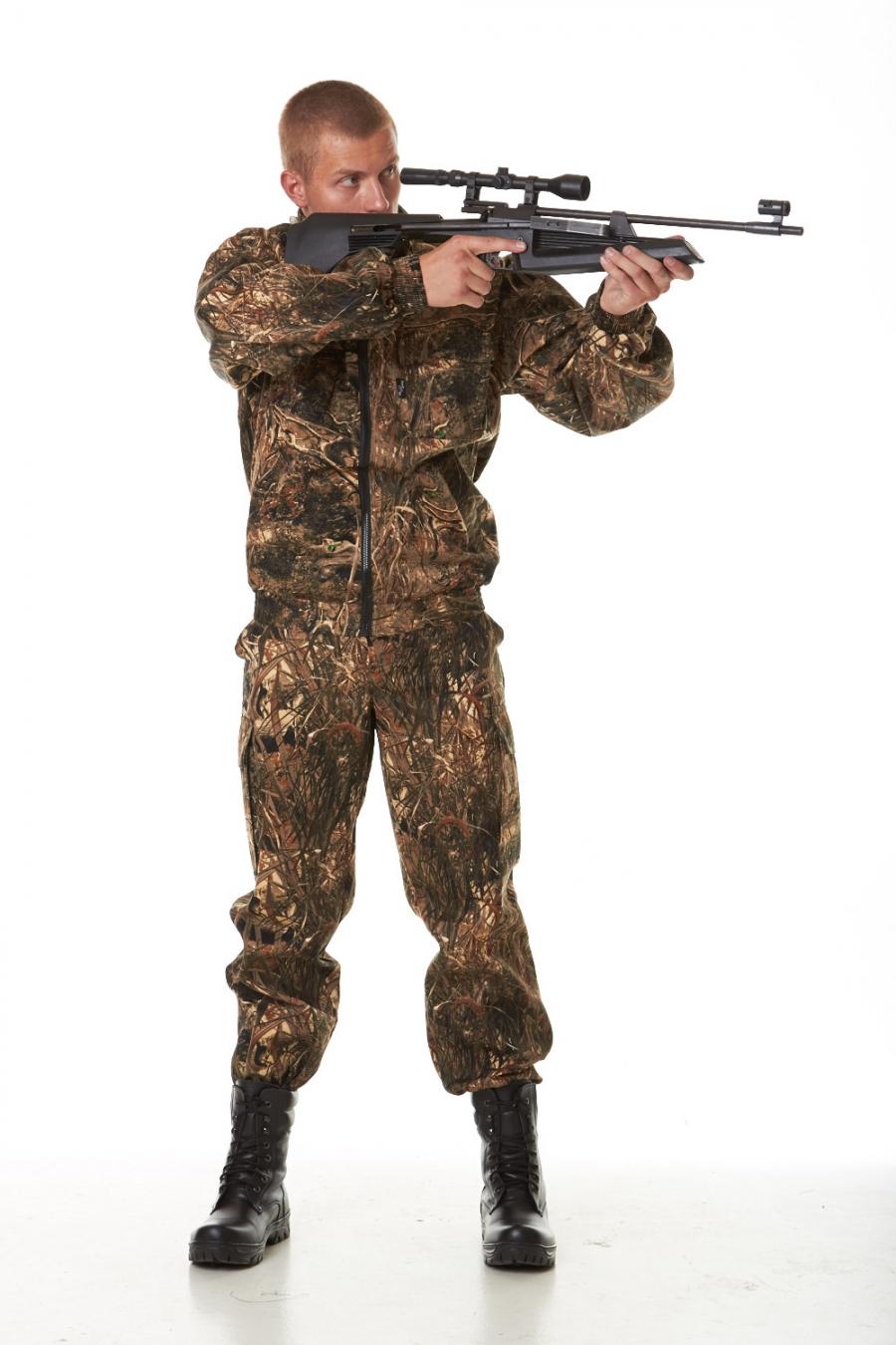 Костюм для охоты и рыбалки Лес-1Одежда для охоты и рыбалки<br><br><br>Размер: Лес-камыш m03а