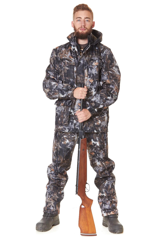 Костюм классический охотничий ЕгерьОдежда для охоты и рыбалки<br><br><br>Размер: Серый paintbal M34