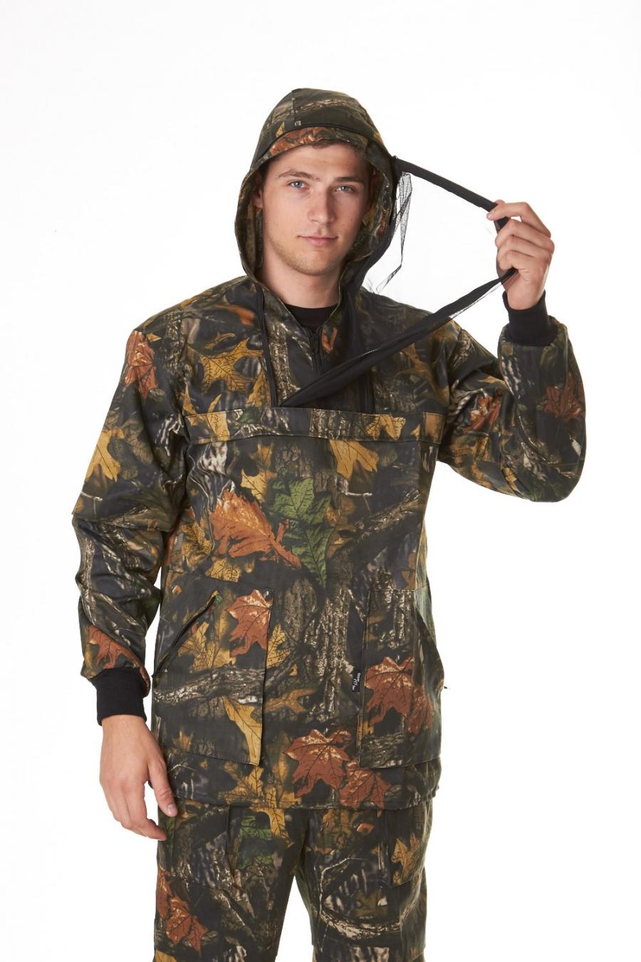 Костюм для охоты и рыбалки Энцефалит-1Одежда для охоты и рыбалки<br><br><br>Размер: Лес 77-03