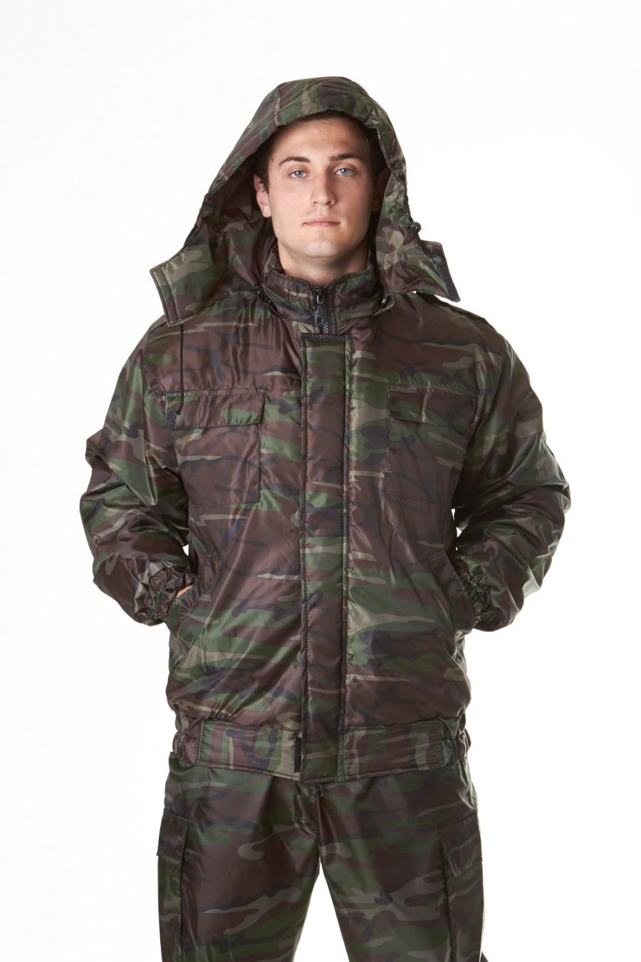 Куртка для охоты и рыбалки Осень влагозащитная утепленная с капюшономОдежда для охоты и рыбалки<br><br><br>Размер: 50