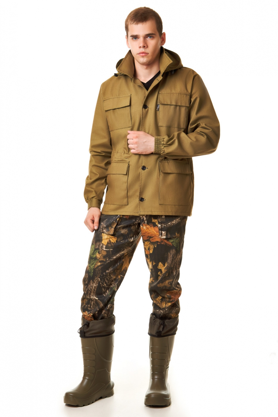 Куртка для охоты и рыбалки ШтормовкаОдежда для охоты и рыбалки<br><br><br>Размер: 54