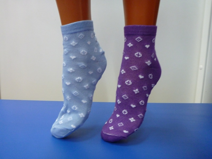 Носки женские Ромбик 12 парНоски<br><br><br>Размер: 37-41