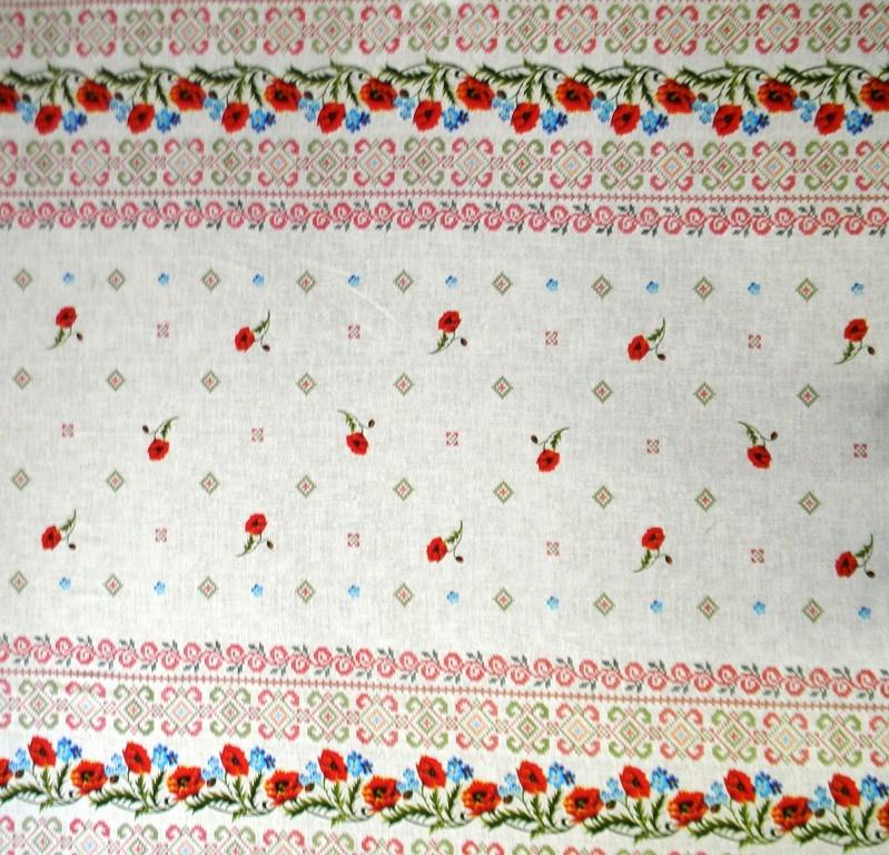 Скатерть из ткани двунитка МакиСкатерти и салфетки<br><br><br>Размер: 150х150