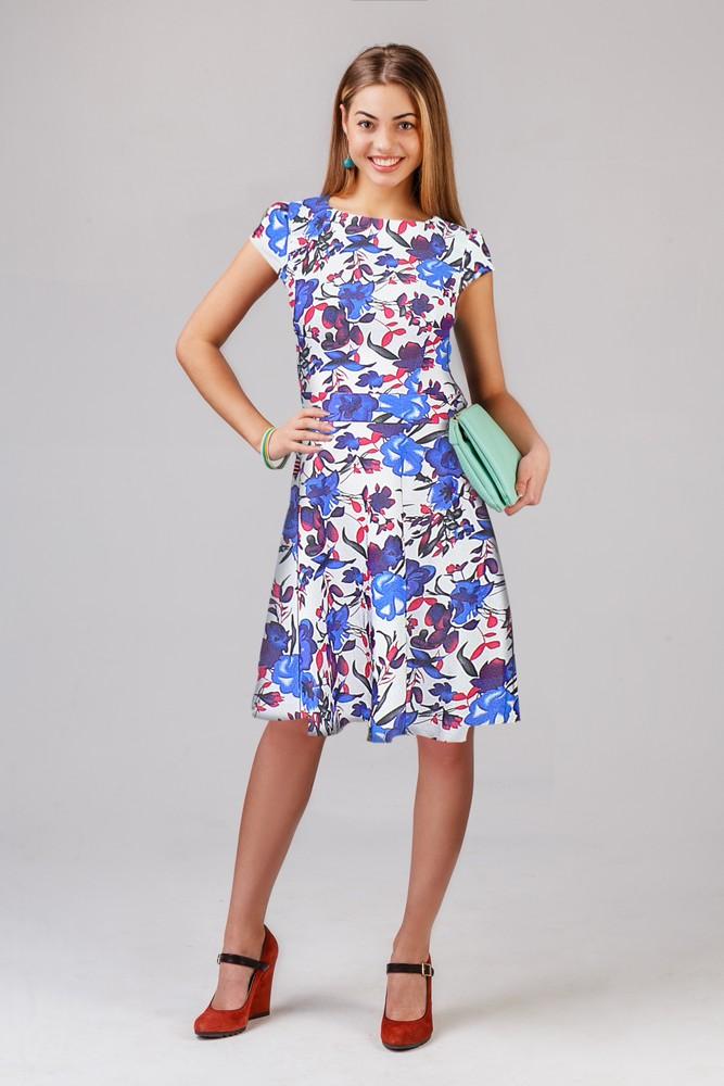 Платье женское ВасилекПлатья<br><br><br>Размер: Синий