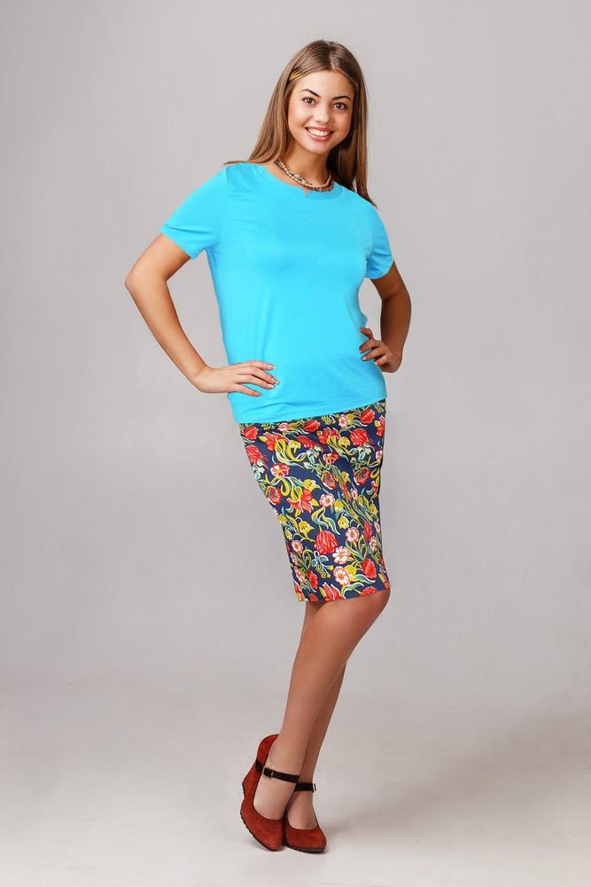 Блузка женская ЛазуритТуники, рубашки и блузы<br><br><br>Размер: 44