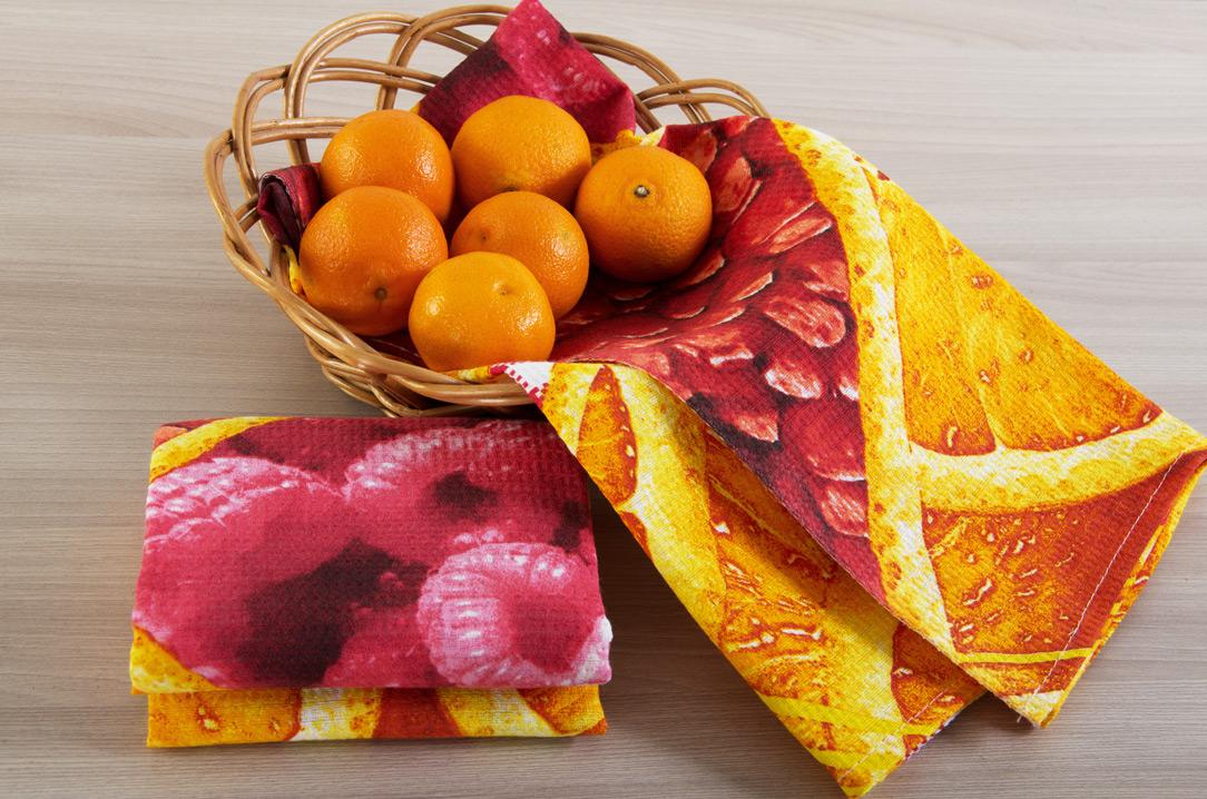 Набор Скатерть и ваф. полотенца Яркий вкусСкатерти и салфетки<br><br><br>Размер: 150х145