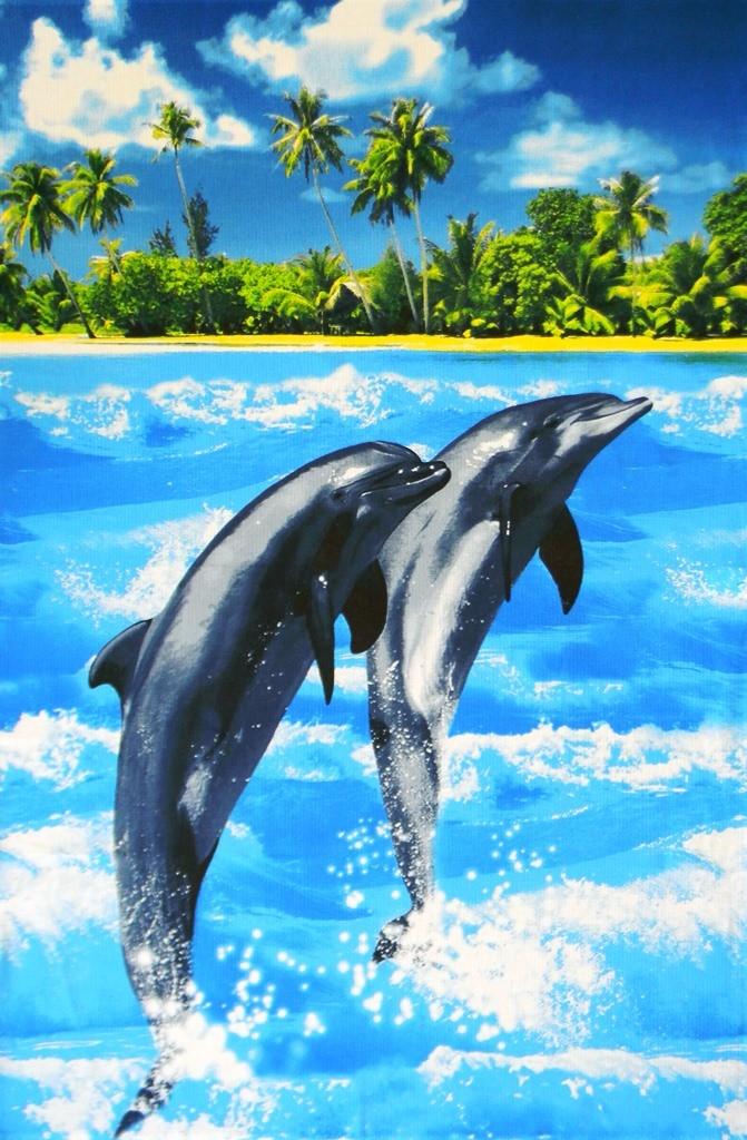 Полотенце для бани и сауны Райский островДля пляжа<br><br><br>Размер: 100х150