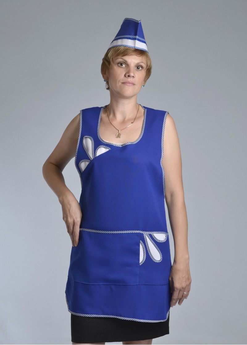 Сарафан женский Клининг-1Для клининга и горничных<br><br><br>Размер: 42