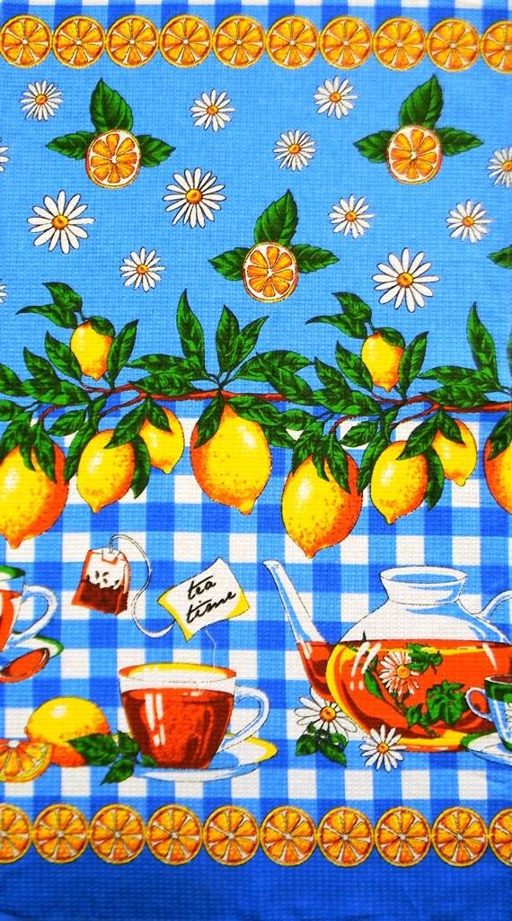 Набор вафельных полотенец Чай (5 шт.)Полотенца<br><br><br>Размер: 40х75