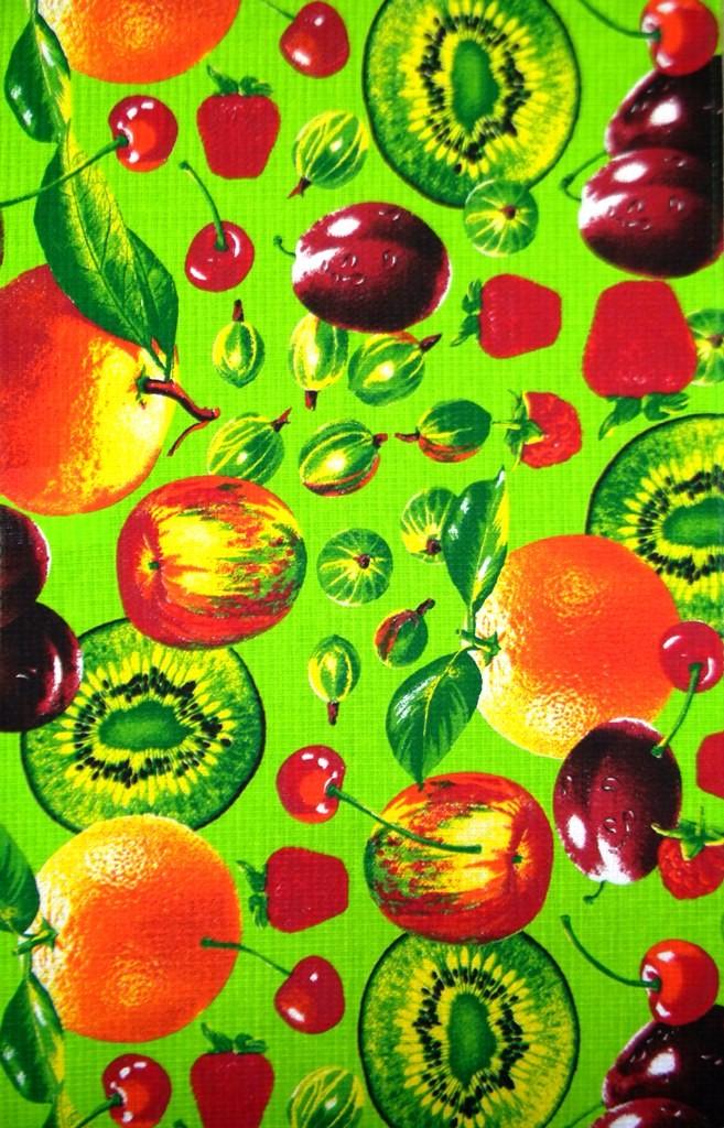 Набор вафельных полотенец Ягодный фреш (5 шт.)Полотенца<br><br><br>Размер: 40х75