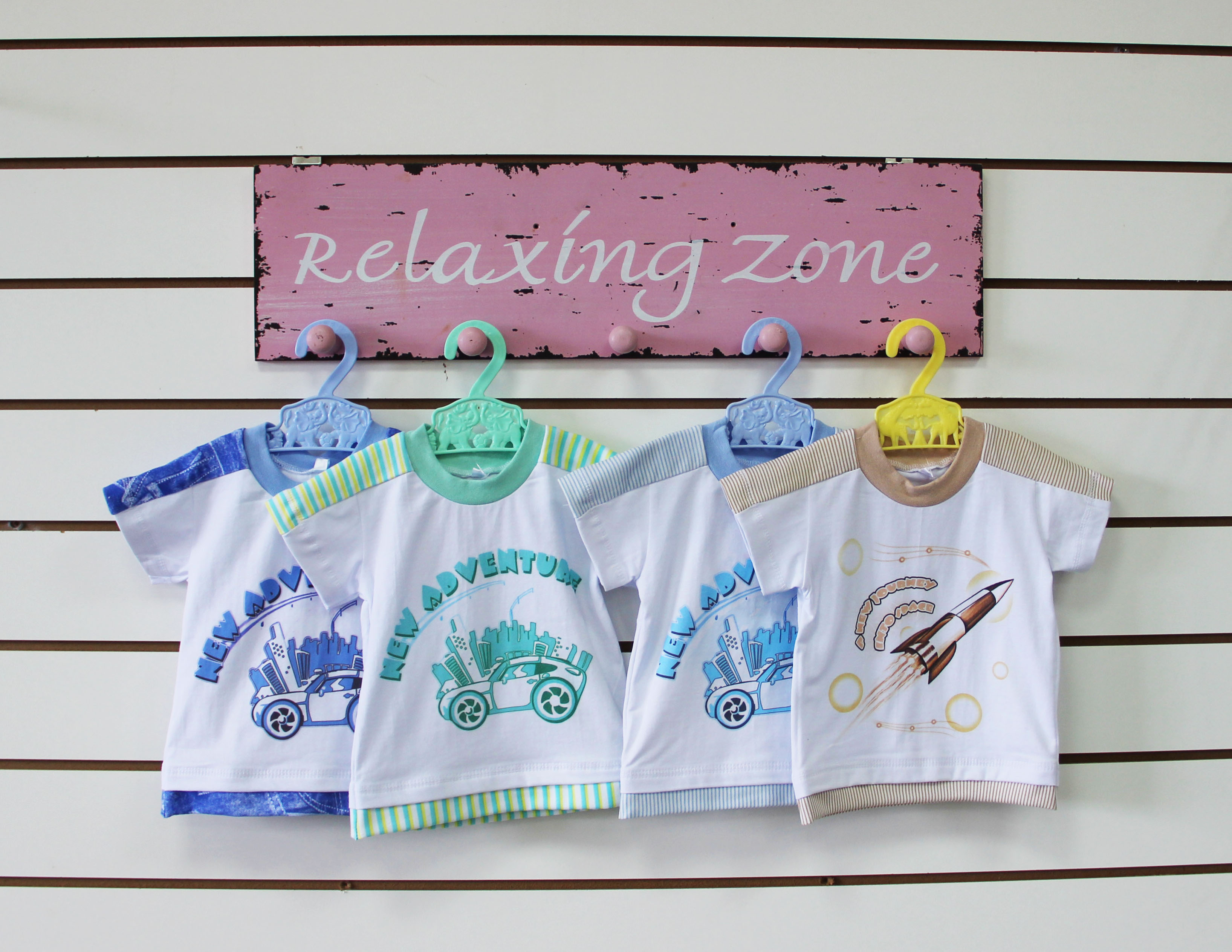 Детская футболка AdventureМайки и футболки<br><br><br>Размер: Голубой