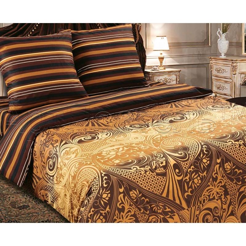 Комплект постельного белья АрабикаПоплин<br><br><br>Размер: 2сп. с европростыней (2 нав. 70х70)